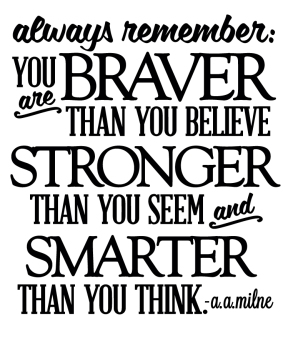 You Are Braver Than You Believe - Thumbnail